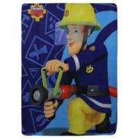 DEKA hasič Sam , Barva - Modrá , Rozměr textilu - 100x140