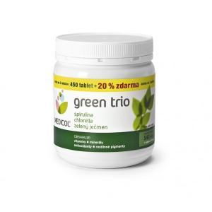 Green Trio (zelený jačmeň, chlorella, spirulina) 540 tablet , Velikost balení - 540 tabliet