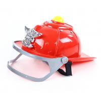 Hasičská helma se zvukem a světlem , Barva - Červená