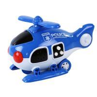 Helikoptéra policie se zvukem a světlem , Barva - Modrá