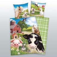 Obliečky Animal Club Zvieratká , Barva - Barevná , Rozměr textilu - 140x200