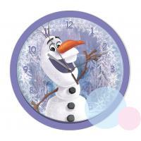 Hodiny Frozen Olaf , Barva - Fialová