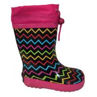 Čižmy dievčanské , Barva - Ružová , Velikost boty - 23