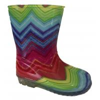 Čižmy dúhové , Barva - Barevná , Velikost boty - 25