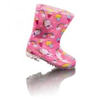 Holínky jednorožec , Velikost boty - 27 , Barva - Ružová