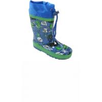 Čižmy , Barva - Modrá , Velikost boty - 21