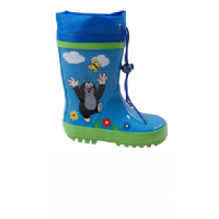 Čižmy Krtko , Velikost boty - 24 , Barva - Modrá