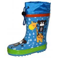 Gumové čižmy a Žirafa , Velikost boty - 29 , Barva - Modrá