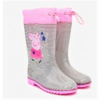 HOLINKY PEPPA PIG , Velikost boty - 25-26 , Barva - Ružová