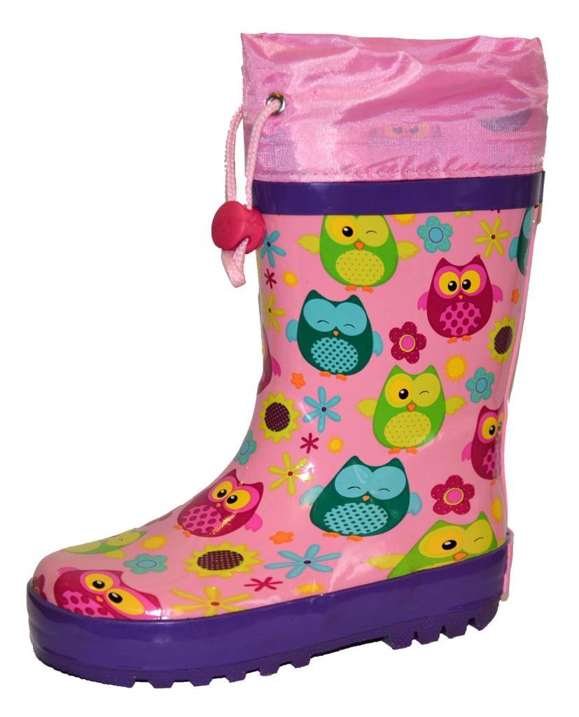 6a9b23dd04c82 detské čižmy sovy , Barva - Ružová , Velikost boty - 31, Pidilidi ...