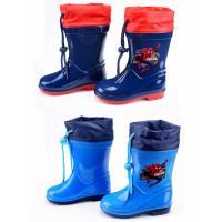 Čižmy Spiderman , Velikost boty - 34 , Barva - Tmavo modrá