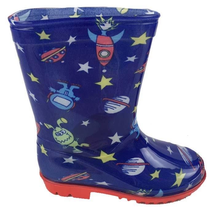 87157b5887d05 detské čižmy vesmír , Barva - Modrá , Velikost boty - 32, Pidilidi ...