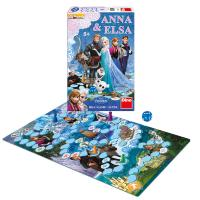 Hra Anna & Elsa FROZEN - Ľadové kráľovstvo , Barva - Barevná