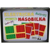 Hra Elektrická násobilka , Barva - Barevná