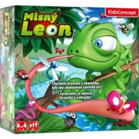 Hra Maškrtný Leon , Barva - Zelená