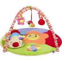 Hrací deka PlayTo stonožka s hračkou , Barva - Barevná