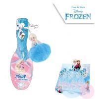 Hřeben na vlasy s přívěškem Frozen , Barva - Modro-růžová