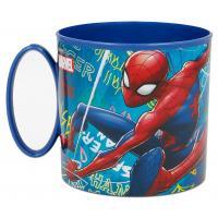 HRNEČEK SPIDERMAN , Velikost lahve - 260 ml , Barva - Modrá
