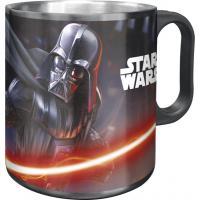 Hrnček Star Wars Darth Vader ALU , Barva - Tmavo šedá , Velikost lahve - 400 ml