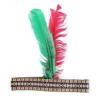 Indiánská čelenka s peřím , Barva - Barevná