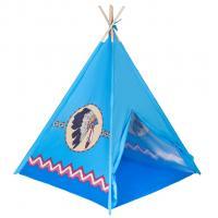 Indiánsky stan teepee Playtech , Barva - Modrá