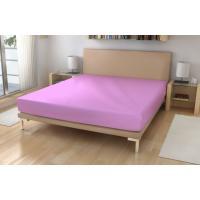 Jersey prestieradlo EXKLUSIVE , Rozměr textilu - 90x200 , Barva - Svetlo fialová