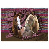 Podložka KONĚ INDIAN HORSE , Barva - Hnedá