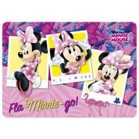 Podložka Minnie Mouse , Barva - Fialovo-růžová