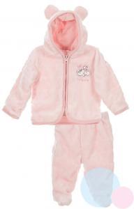 Kabátek a kalhoty Minnie , Barva - Ružová , Velikost - 50