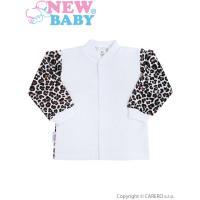 Kabátik Leopardík , Velikost - 62 , Barva - Hnedá