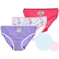 Kalhotky Peppa Pig 3 kusy , Barva - Růžovo-fialová , Velikost - 92/98