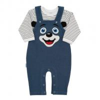 Kalhoty a triko New Baby For Babies , Velikost - 62 , Barva - Modrá