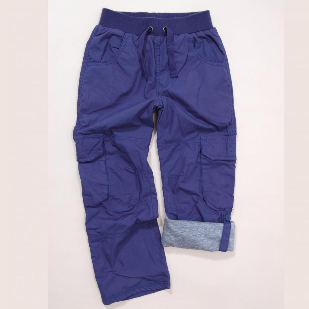Nohavice chlapčenské s podšívkou 04795d29fff