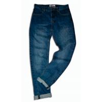 Riflové nohavice , Barva - Modrá , Velikost - 146