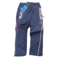 Nohavice s fleec podšívkou , Velikost - 98 , Barva - Tmavo modrá
