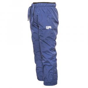 Nohavice s fleecom , Velikost - 134 , Barva - Modrá