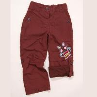 Nohavice s podšívkou , Velikost - 80 , Barva - Hnedá
