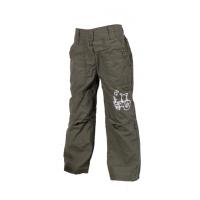 Nohavice s podšívkou  , Velikost - 80 , Barva - Zelená