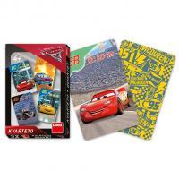 Karty kvarteto Cars 3 , Barva - Barevná