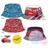 Klobouček Cars - oboustranný , Barva - Modro-červená , Velikost čepice - 52