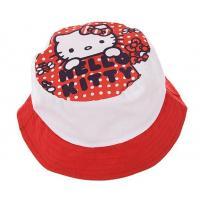 KLOBOUČEK HELLO KITTY , Velikost čepice - 50 , Barva - Bielo-červená