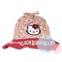 Klobúčik Hello Kitty , Barva - Červená , Velikost čepice - 48