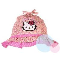 Klobouček Hello Kitty , Barva - Ružová , Velikost čepice - 48