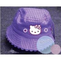 Klobúčik Hello Kitty , Barva - Fialová , Velikost čepice - 48