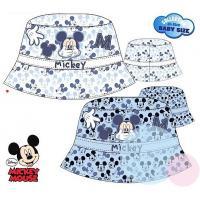 Klobouček Mickey , Barva - Biela , Velikost čepice - 48