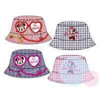 Klobúčik Minnie - obojstranný , Velikost čepice - 50 , Barva - Červená