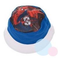Klobúčik Spiderman , Velikost čepice - 52 , Barva - Bielo-modrá