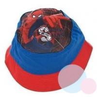Klobúčik Spiderman , Velikost čepice - 54 , Barva - Modro-červená