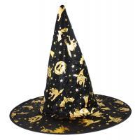 Klobouk čarodějnice , Barva - Čierna