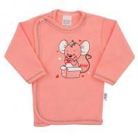Košilka New Baby Mouse , Velikost - 62 , Barva - Ružová